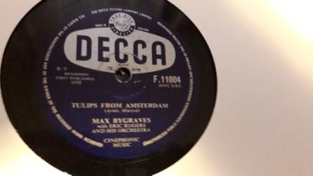 Max Bygraves - Tulips from Amsterdam - Decca F.11004 N-