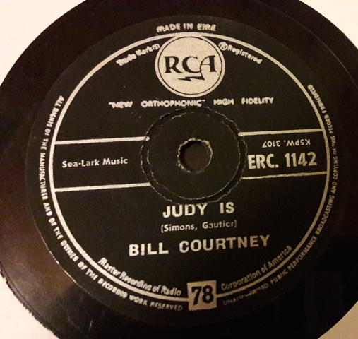 Bill Courtney - Without her love - RCA ERC.1142 Irish