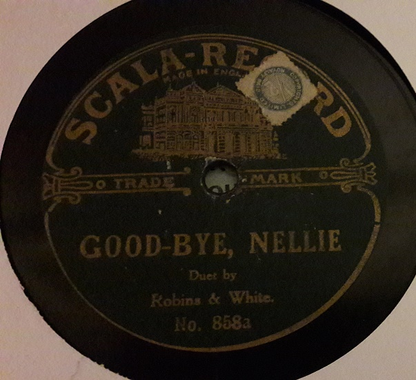 Robins & White - Cood Bye Nellie - Scala Records 858