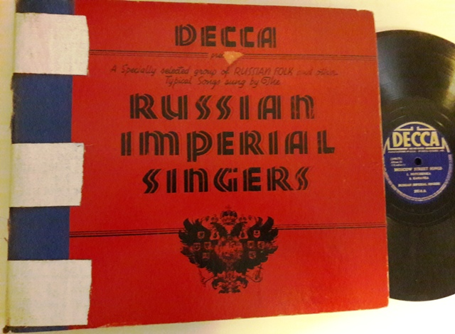Russian Imperial Singers - Decca Set 53 - 6 x 78 USA 1938 VG+