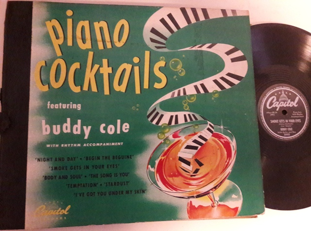 Buddy Cole - Piano Cocktails - Capitol Set BD.24 - 4 X 78 USA