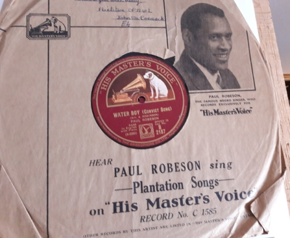 Paul Robeson - Water Boy / Steal away - HMV B.2187 E