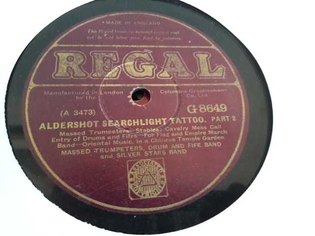 Silver Stars Band - Aldershot Searchlight - Regal G.8649 VG+