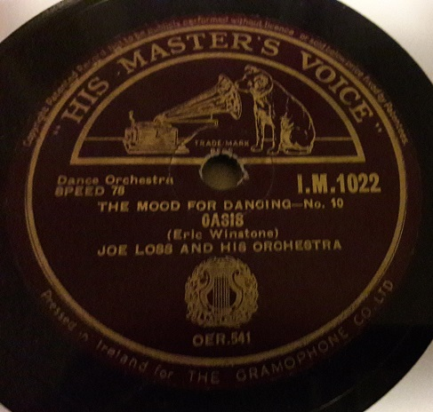 Joe Loss - In the Mood - HMV IM.1022 Irish E