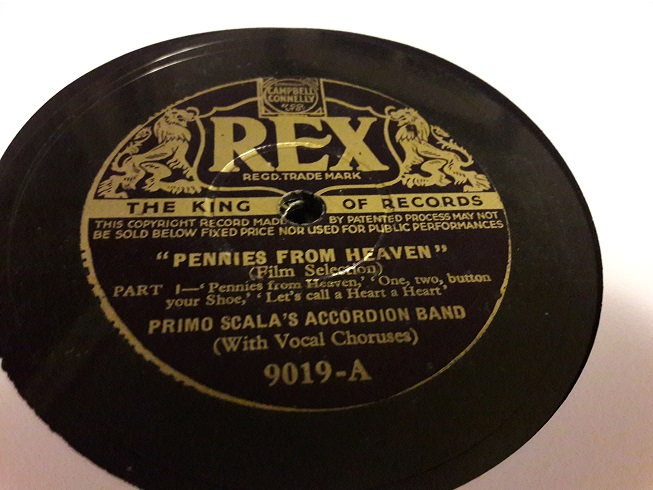 Primo Scala Accordion - Pennies from Heaven - Rex 9019 E