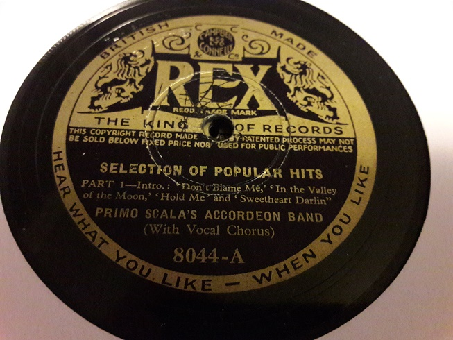 Primo Scala Accordion - Selection Popular Hits - Rex 8044 E