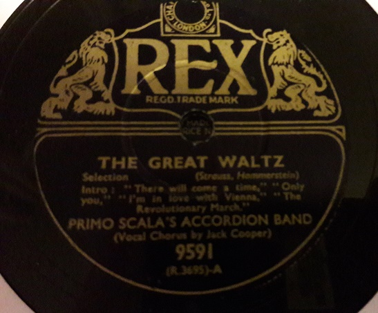Primo Scala Accordion - The Great Waltz - Rex 9591 E