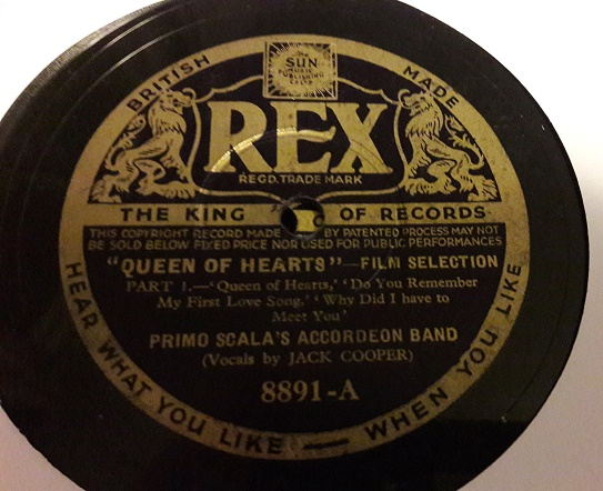 Primo Scala Accordion - Queen of Hearts - Rex 8891 E