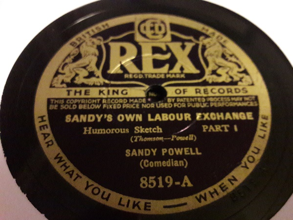Sandy Powell - Sandy's own Labour Exchange - Rex 8519 E+