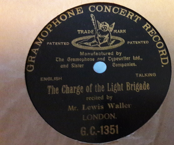 Lewis Waller - The Charge Light Brigade - Gramophone Concert