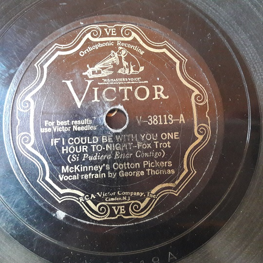 McKinney's Cotton Pickers - Zonny - Victor V-38118
