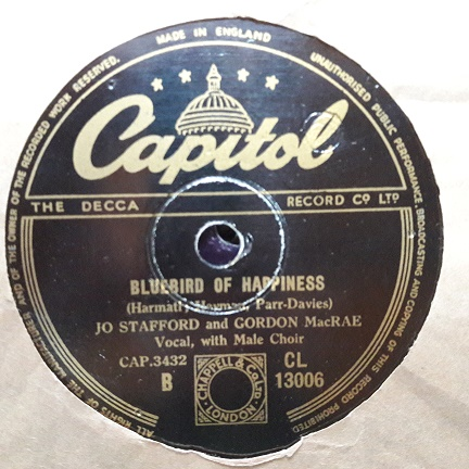 Jo Stafford & Gordon MacRae - Capitol CL.13006 UK