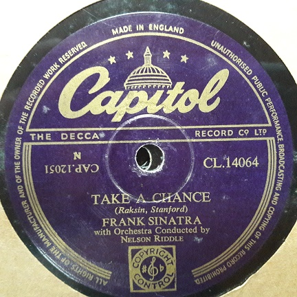 Frank Sinatra - Young at heart - Capitol CL14064 UK