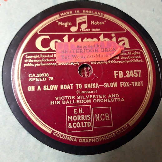 Victor Silvester - You were only fooling - Columbia FB.3457