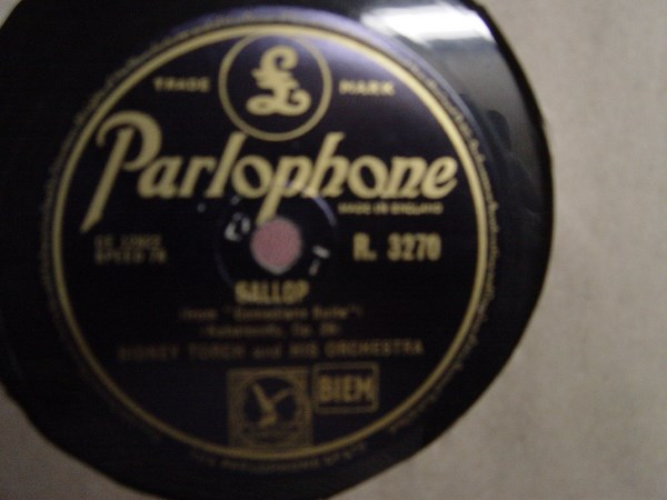 Sidney Torch - Gallop / High Heels - Parlophone R.3270
