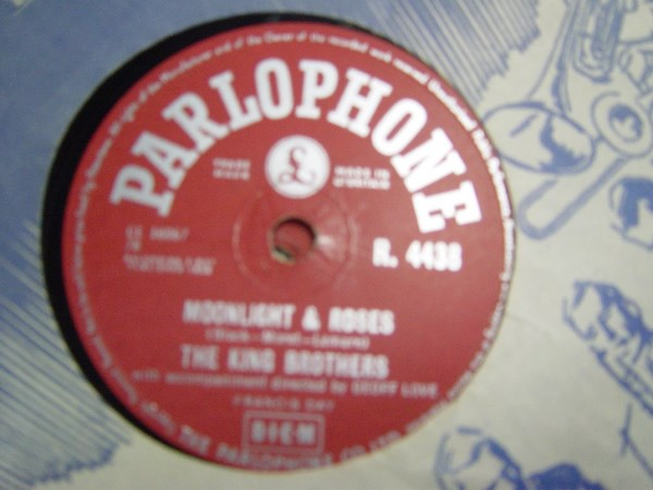 The King Brothers - Moonlight & Roses - Parlophone R.4438