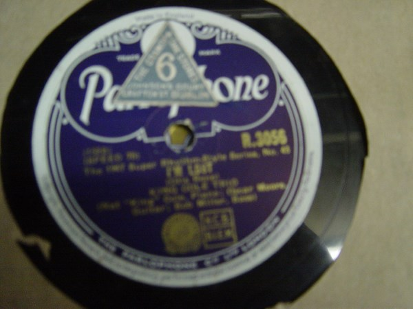 King Cole Trio - Let's spring one - Parlophone R.3056