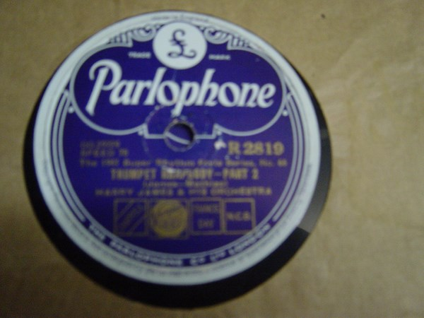 Harry James - Trumpet Rhapsody - Parlophone R.2819 Mint -