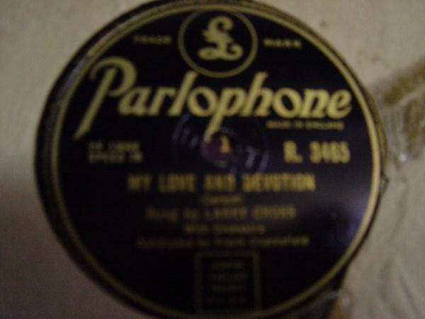 Larry Cross - Hanging around with you - Parlophone R.3465