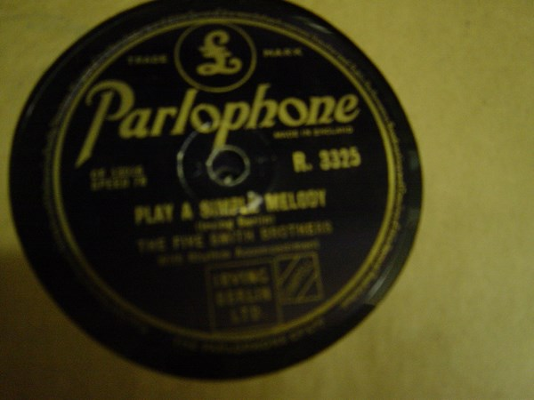 Five Smith Brothers - Silver Dollar - Parlophone R.3325