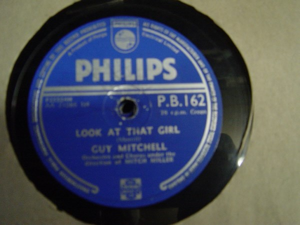 Guy Mitchell - Look at that Girl - Philips P.B. 162