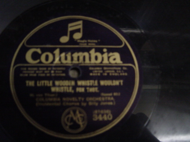 Savoy Havana Band - Why did I kiss that Girl - Columbia 3440