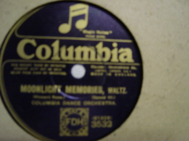 Savoy Havana Band - All alone - Columbia 3532
