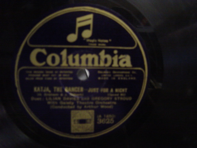 Lilian Davies - Katja The Dancer - Columbia 3625