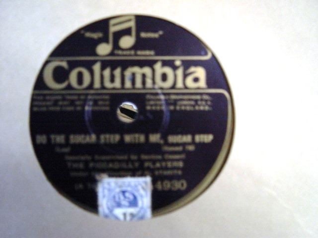 Piccadilly Players - Do the Sugar Step - Columbia 4930