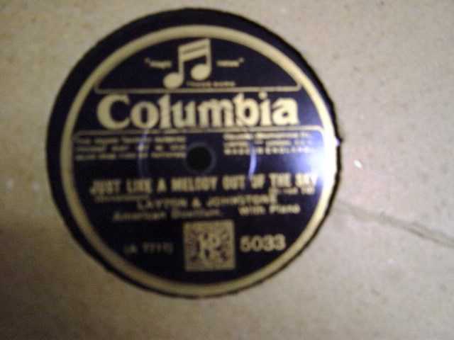 Layton & Johnstone - Because my Baby dont mean - Columbia 5033