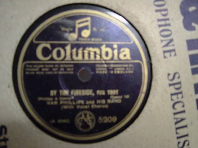 Van Phillips & Al Bowlly - By the Fireside - Columbia 5209