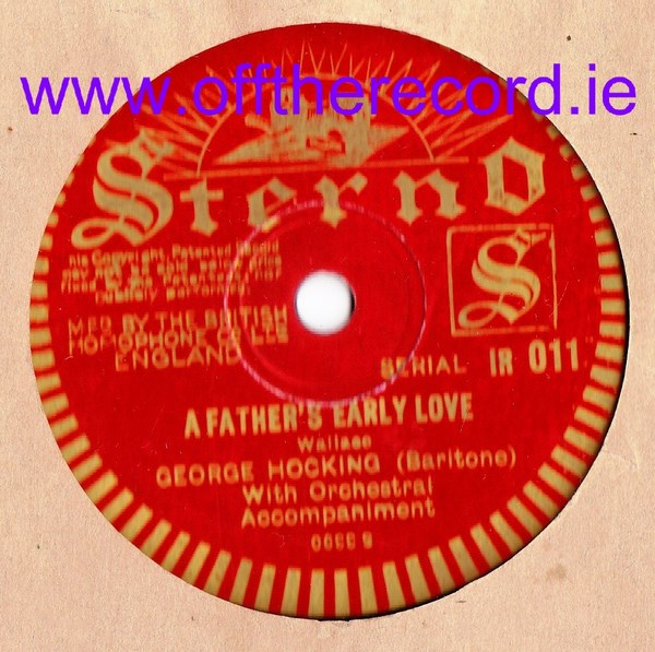 George Hocking - Love thee deares - Sterno IR 011