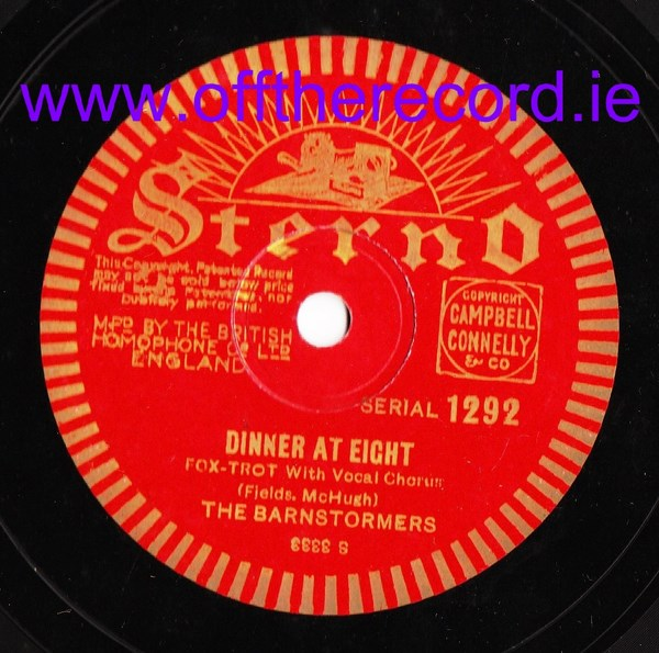 The Brainstormers - Dinner at Eight - Sterno 1292