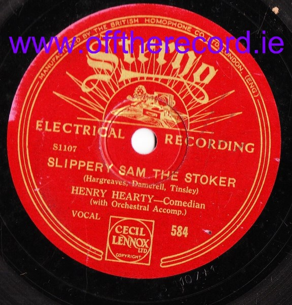 Henry Hearty - Slippery Sam The Stroker - Sterno 584