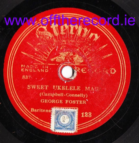 George Foster - Sweet Ukelele Man - Sterno 123