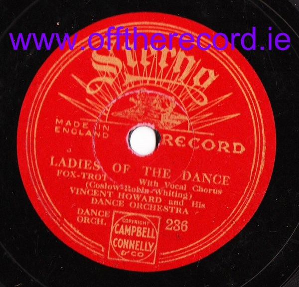 Vincent Howard Dance Orchestra - Seventh Heaven - Sterno 236