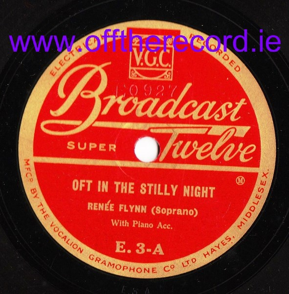 Renee Flynn - Oft in the Stilly Night - Broadcast Twelve E.3