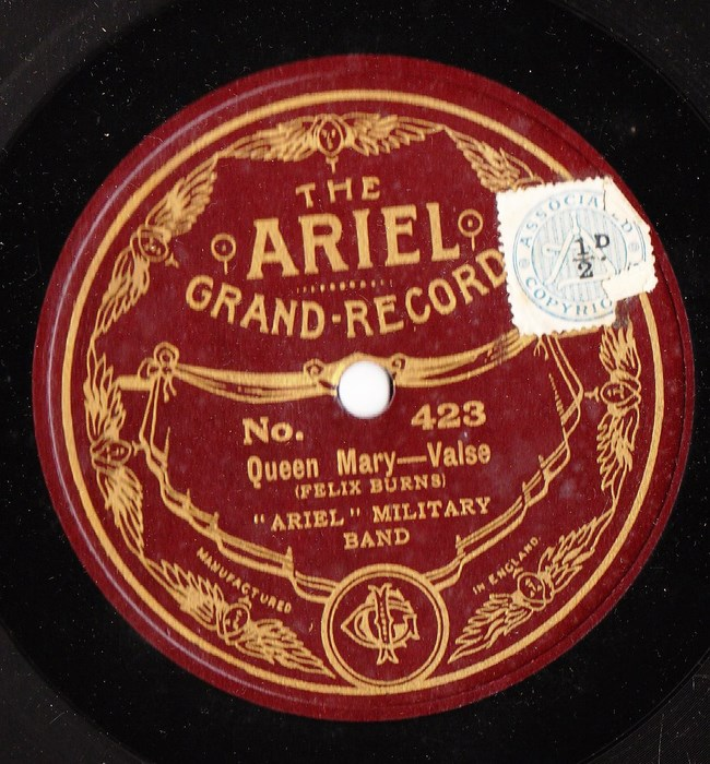 Ariel Military Band - Queen Mary Valse - Ariel 423