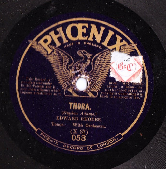 Edward Rhodes - Nirvana - Phoenix Records 053
