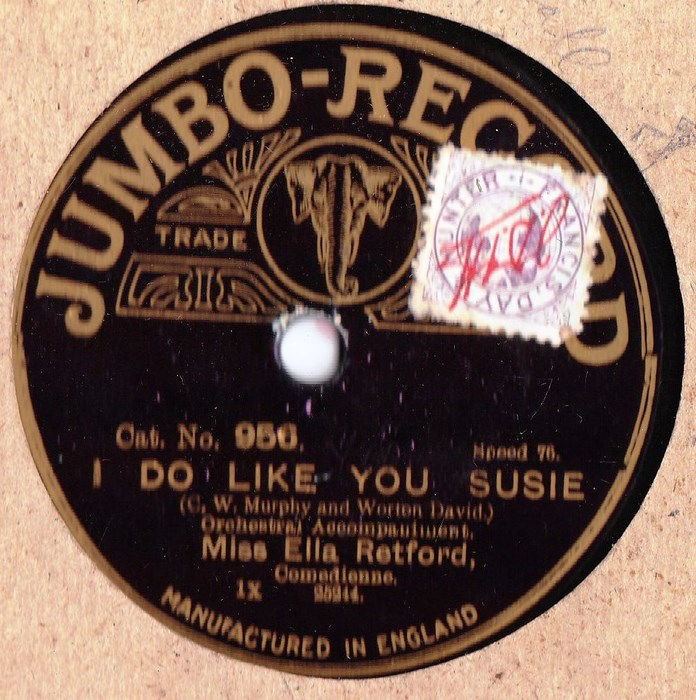 Ella Retford - I do like you susie - Jumbo Records 956
