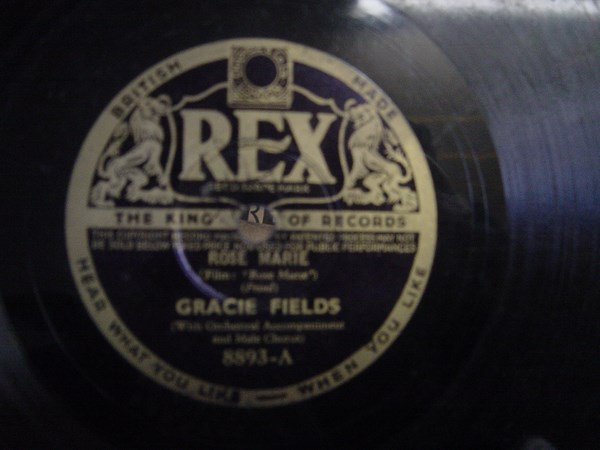 Gracie Fields - Rose Marie - Rex 8893