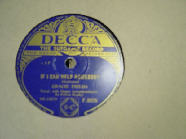 Gracie Fields - Count your Blessings - Decca F.9026