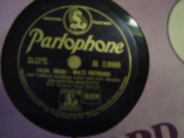 Orchestra Mascotte - Hydropathen - Parlophone R. 1389
