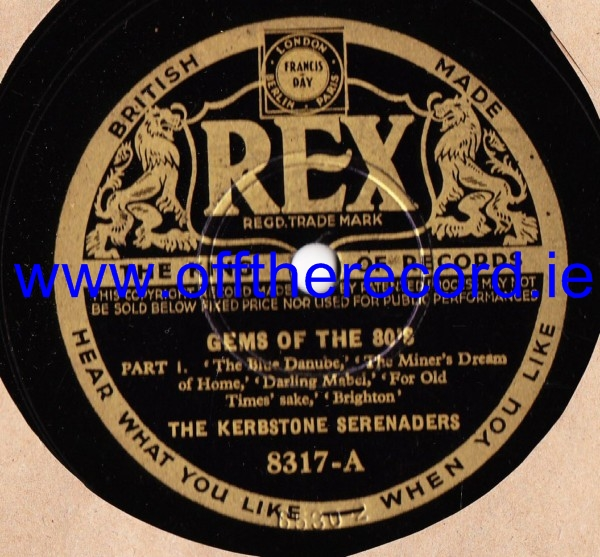 The Kerbstone Serenaders - Gems of the 80's - Rex 8317