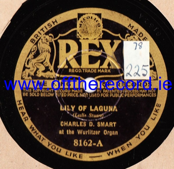 Charles D. Smart - Lily of Laguna - Rex 8162