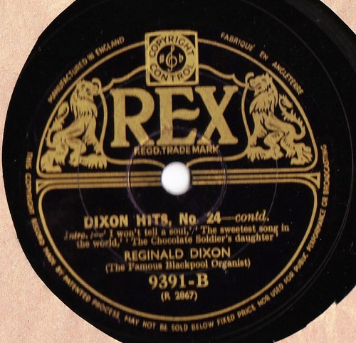 Reginald Dixon - Dixon Hits No. 24 - Rex 9391