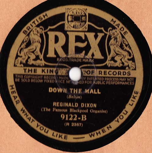 Reginald Dixon - Bells across the meadow - Rex 9122