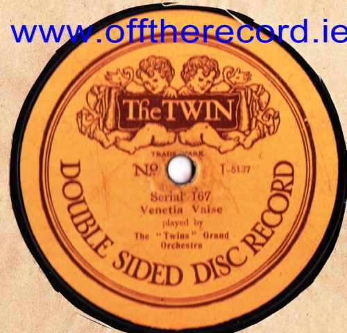 The Twins Grand Orchestra - Venetia Valse - The Twin 167