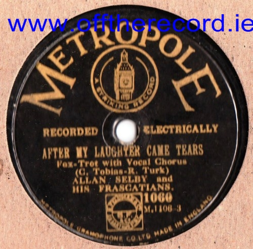 Allan Selby / George Fisher & Kit Kat Band - Metropole 1060