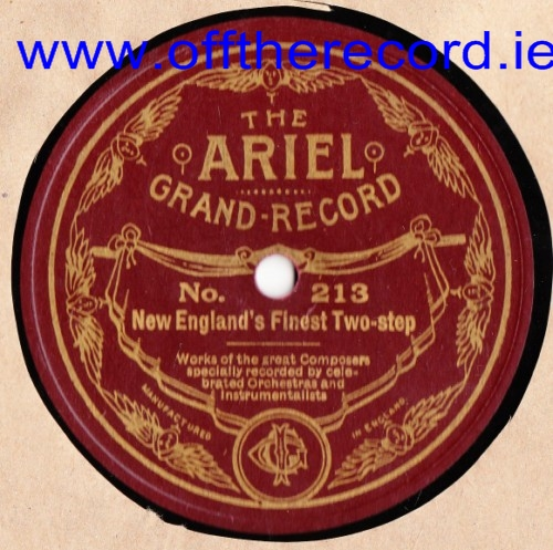 New Englands Finest Two Step - Ariel Grand Record 213